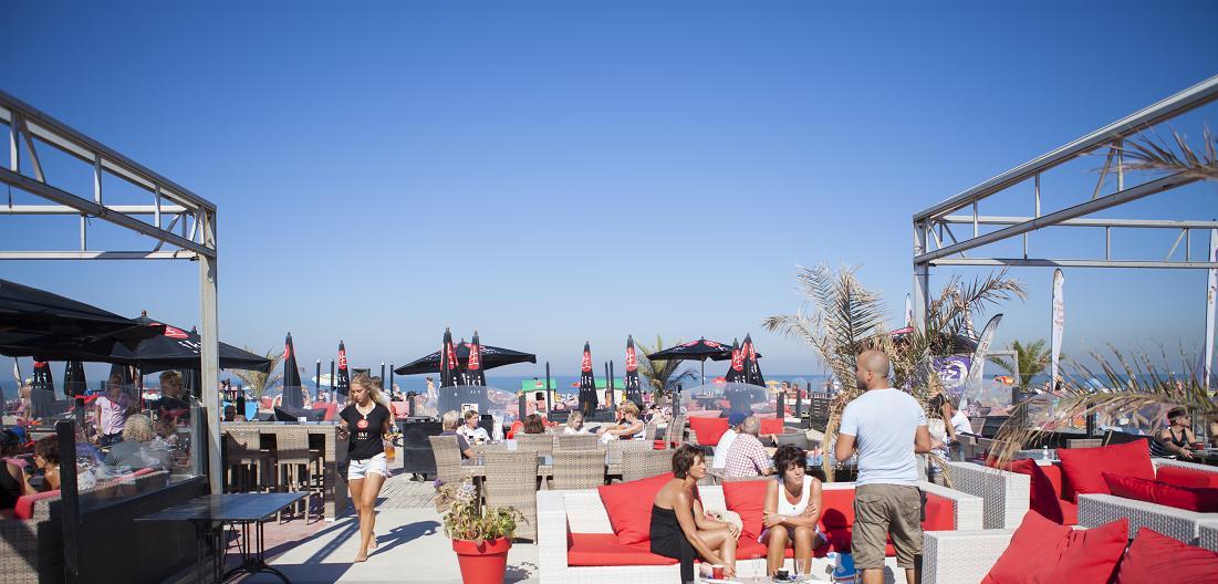 Strandpavillon, Terrase, Strand Club