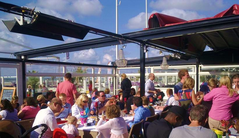 brunch, strandtent, hoek van holland, strand