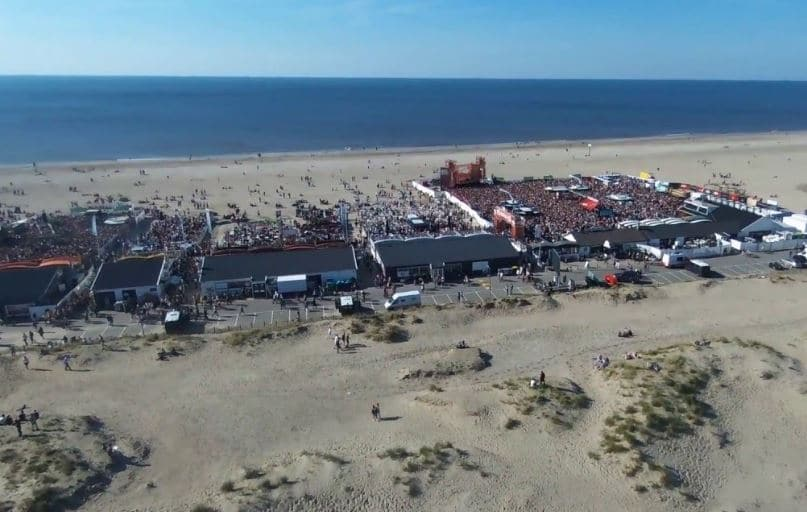 strandopening, strandtent, hoek-van-holland