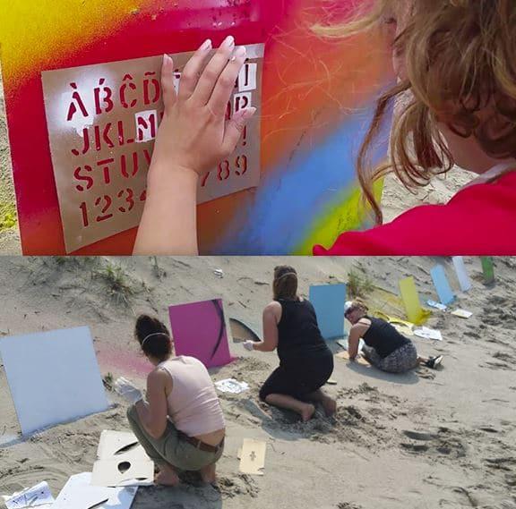 graffiti strand