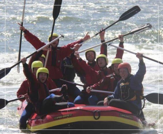 teambuilding, raften, hoek van holland