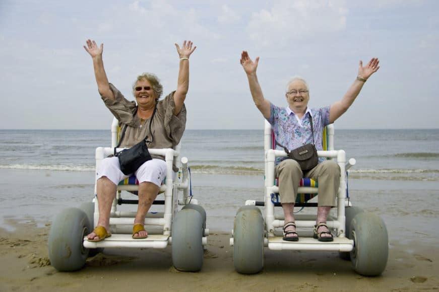 invalide, strandtent, hoek van holland