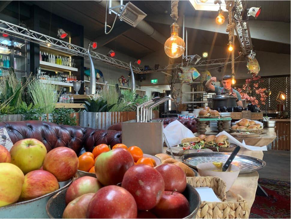 ontbijt buffet, hoek van holland